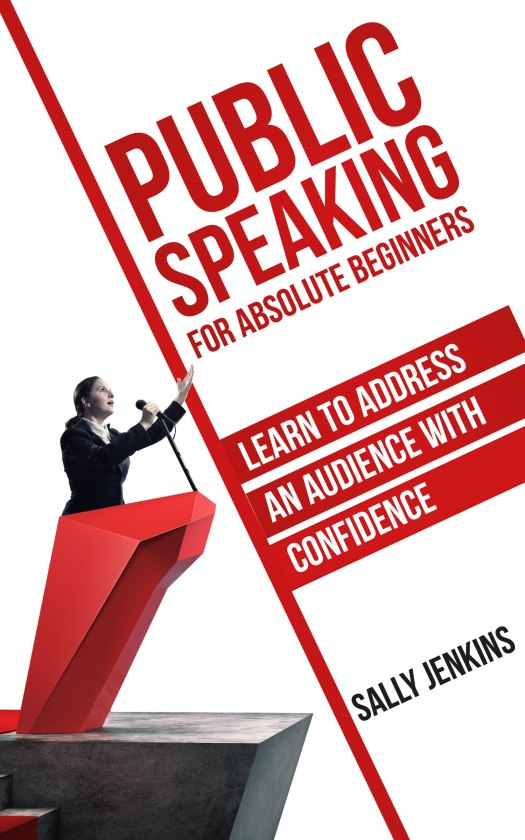 Sally Jenkins. public speaking book cover